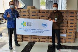 15 ribu produk susu cair siap minum dukung logistik nakes tangani COVID-19