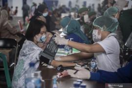 Sebanyak 70,4 juta vaksin gratis telah terdistribusi ke seluruh Indonesia
