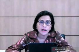 Sri Mulyani nyatakan realisasi anggaran DAU/DBH hanya 11,9 persen hingga semester I