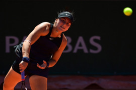 Juara bertahan Andreescu atasi perlawanan sengit Riske di Indian Wells