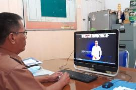 Kepala Diskominfo Lampung Selatan ikuti webinar kebebasan berekspresi di dunia digital