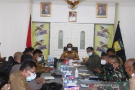 Pejabat Kodam XVII/Cenderawasih rakor dengan Sekda Papua bahas vaksinasi pelajar