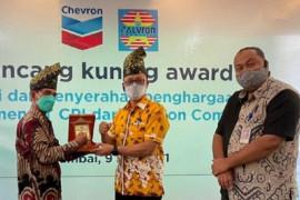 Apresiasi seabad PT CPI di Riau, Calvron anugerahkan Lancang Kuning Award