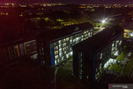Melihat dari udara Wisma Atlet Jakabaring yang dijadikan tempat isolasi pasien COVID-19 Page 3 Small