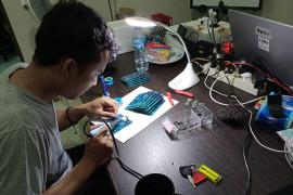 Dosen IT Telkom Purwokerto menciptakan alat pemantau suhu vaksin COVID-19