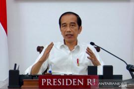 Presiden Joko Widodo minta para menteri sensitif berkomunikasi saat pandemi