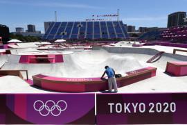 Skateboard membuat debut bersejarah di Olimpiade Tokyo