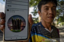 Penjualan Nasi Bambu Secara Daring