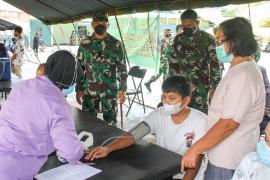 184.962 orang di Papua divaksin COVID-19 pada faskes TNI