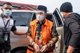 Bupati Muara Enim nonaktif Juarsah mendekam di Rutan Palembang