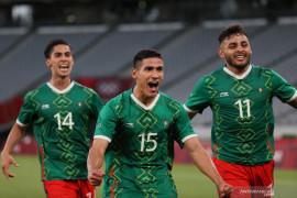 Prancis kalah telak 1-4 atas Meksiko di laga perdana Grup A