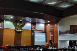 DPRD Sumbar terima masukan bidang ekonomi untuk RPJMD 2021-2026