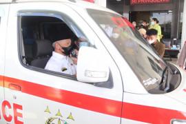Pemkab Pringsewu terima bantuan ambulans dari kejaksaan