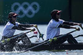 Pendayung Indonesia gugup hingga gemetar saat debut di Olimpiade Tokyo