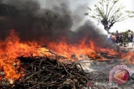 Kebakaran lahan terjadi lagi di Rohil dan Rohul