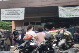 Realisasi vaksinasi COVID-19 di Kota Palembang baru 26 persen