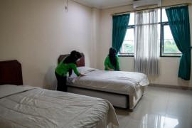 240 orang karyawan di Lahat ditemukan isolasi mandiri secara ilegal di hotel