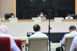 Pemkot Makassar pastikan keperluan medis untuk penanganan pasien isolasi apung terpenuhi