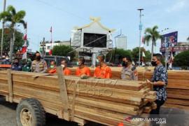 Rilis Tangkapan Kayu Ilegal Logging