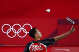 Timnas bulu tangkis membuat sejarah menangi semua laga pembuka Olimpiade