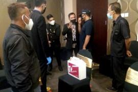 Satgas COVID-19 hentikan acara pernikahan di hotel