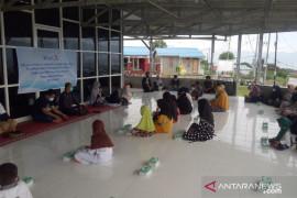 Human initiative  bantu PJJ peserta didik penyintas bencana di Sulteng