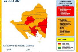 Jumlah kasus COVID-19 di Lampung bertambah 499