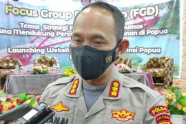Polisi Timika tangkap empat pengedar sabu jaringan Makassar