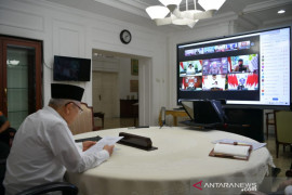 Wapres Ma\'ruf: Kerja pers harus berjalan di tengah pandemi