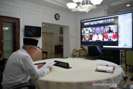 Wapres Ma\'ruf Amin sebut kerja pers harus tetap berjalan di tengah pandemi
