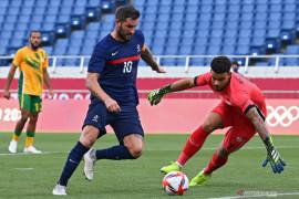 Prancis menang secara dramatis 4-3 atas Afrika Selatan di Olimpiade Tokyo