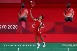 Ginting amankan kemenangan pertama di penyisihan Grup J Olimpiade Tokyo 2020