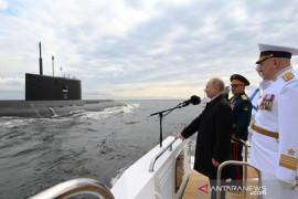 Putin sebut AL Rusia bisa menyerang jika diperlukan