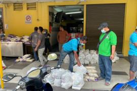 KAHMI Malaysia dan Brainy salurkan logistik ke WNI terdampak 'lockdown'