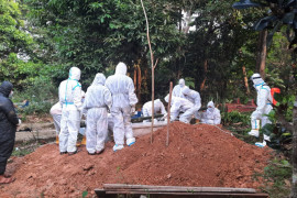 Kasus kematian COVID-19 di OKU bertambah empat orang selama sepekan