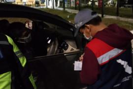 PT HK laksanakan operasi mengantuk di Km 306 Jalan Tol Trans Sumatera