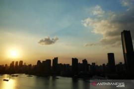 Bandara Shanghai China ditutup gara-gara topan