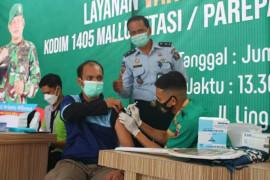 463 warga binaan Lapas Parepare disuntik vaksin COVID-19