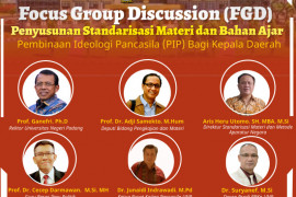 PKP UNP siapkan bahan ajar Pembinaan Ideologi Pancasila bagi kepala daerah
