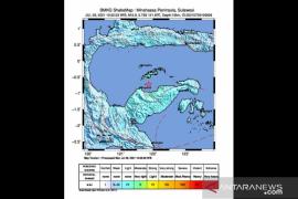 Gempa magnitudo 6,5 guncang Kabupaten Tojo Una-Una Sulteng