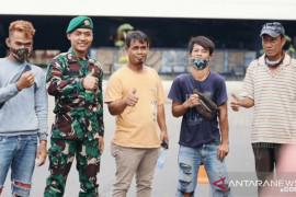 KASAD berpesan tukang bangunan lulus jadi prajurit TNI agar tak lupakan teman