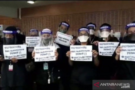 Dokter kontrak di RS Malaysia gelar unjuk rasa