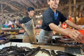 Pedagang pasar tradisional Palembang  keluhkan penurunan daya beli