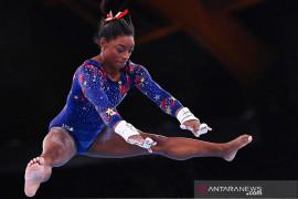 Ini alasan Simone Biles mundur dari final all-around Olimpiade Tokyo