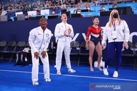 Olimpiade Tokyo masih menunggu keputusan Simone Biles kembali berlomba
