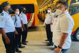 Diskominfo: Bus operasional PON Papua mulai dipasang GPS