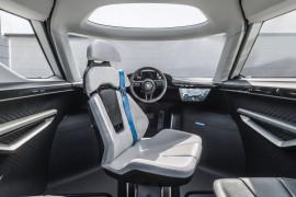 Porsche pamerkan bagian dalam Porsche Vision