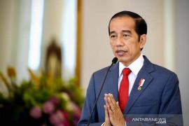 Jokowi minta jajarannya intensifkan dana untuk tangani limbah medis COVID-19
