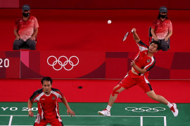 Ganda Hendra/Ahsan juara Grup D menuju perempat final Olimpiade Tokyo
