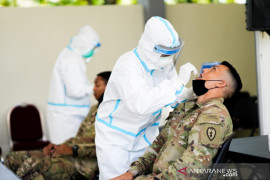 108 tentara AS tiba di Balikpapan langsung jalani karantina di Yonif  600 Raiders